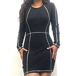 Black Label Beautiful Bodycon Dress