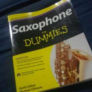 Saxophone For Dummies book