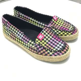 DC Plaid Slip On