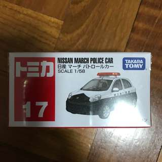 Tomica Nissan March Police Car