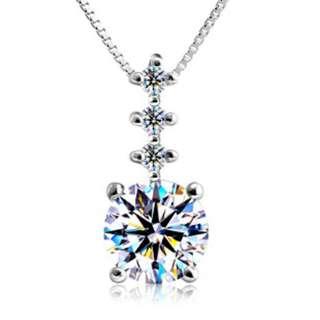 Elegant Zircon Necklace