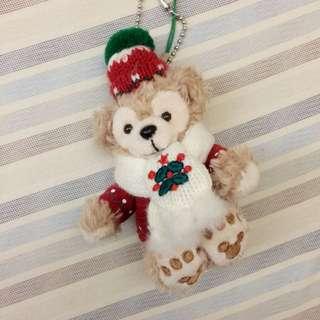 達菲 聖誕款吊飾
