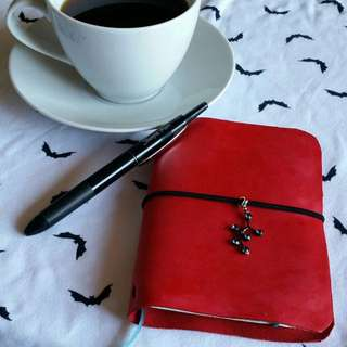 Pocket Size Leather Travellers Notebook Planner