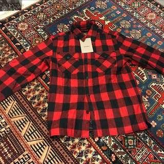 Carhartt Melton Flanel Overshirt Size M (new)