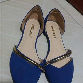*** SALE*** Blue Suede Shoes