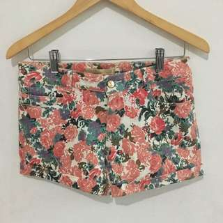 Zara (Replica) Floral Short Pants