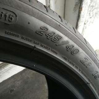 Tayar Michelin Ps3 245 40 18 BMW E60 Merc W212