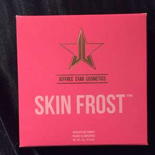 Jeffree Star Skin Frost Peach Goddess New In Box