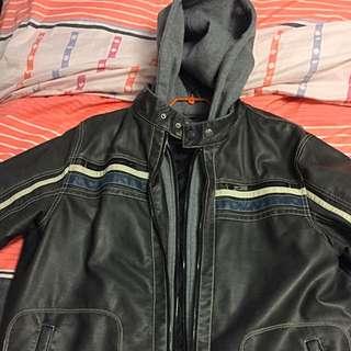 Authentic Point Zero Jacket With Hood