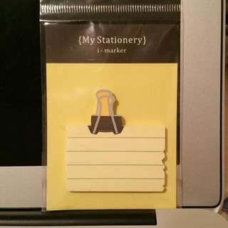 i-marker Clip Sticky Note