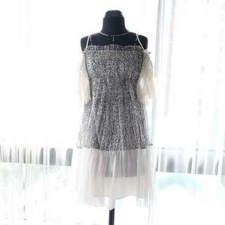 DVF Premium kw Silk Dress