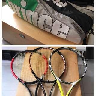 Tennis Racquets & Tennis Bag