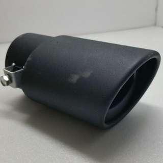 Car Rear Muffler Add On Tip (Matte Black)