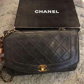 (保留中)Chanel Vintage 香奈兒經典2.55老香包黛妃包戴妃包