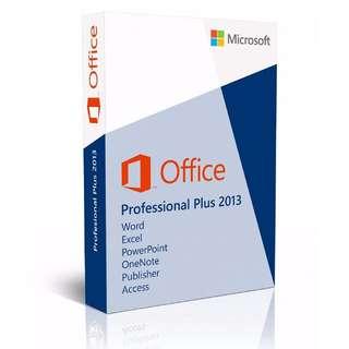 軟件 Microsoft office 2013 pro plus