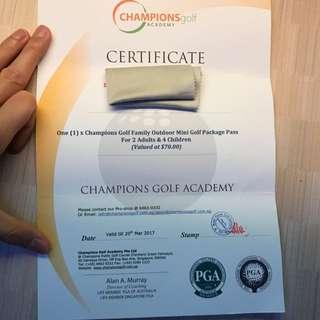 Champions Golf Academy
