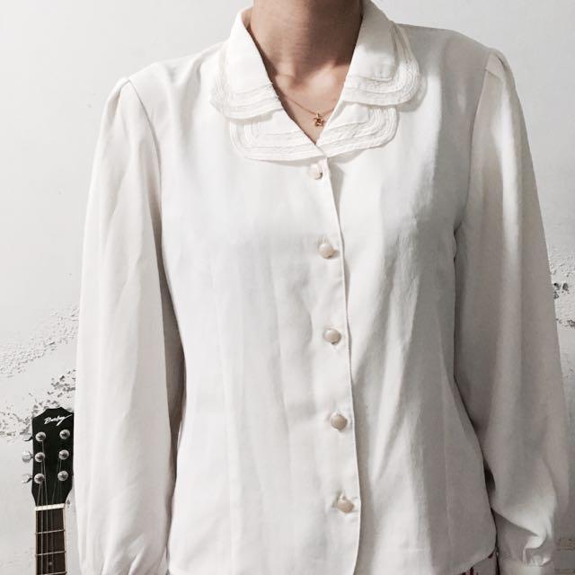 古著穿搭必備白襯衫