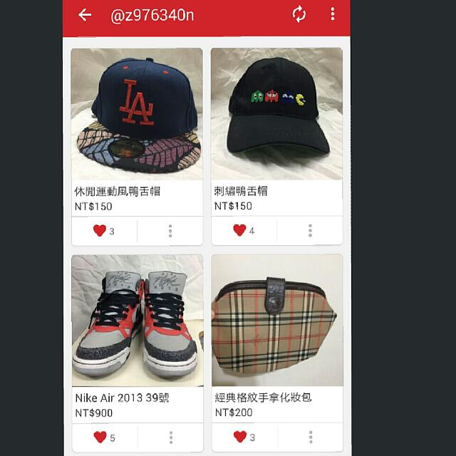 衣物帽子飾品鞋子 爆便宜