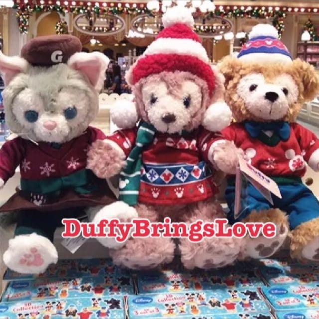 香港迪士尼 聖誕節 達菲 雪莉玫