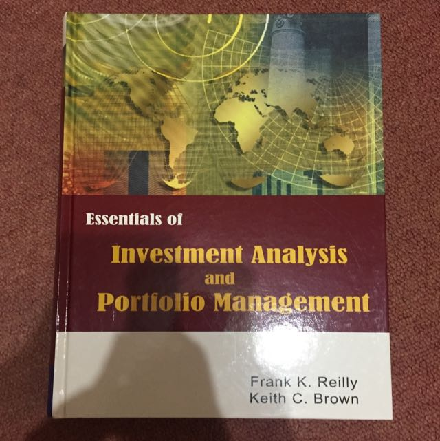 投資學 Investment analysis and portfolio management (原文書)