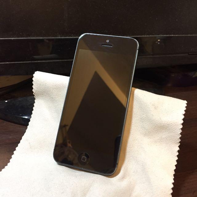 機況良好 iPhone 5 32g 灰 8.5新
