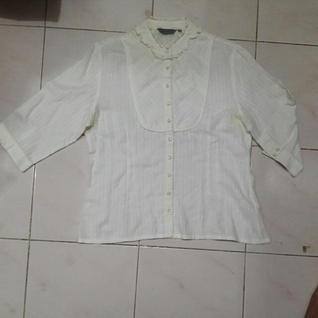 "( SALE! ) KEMEJA TOP "" ACCENT """