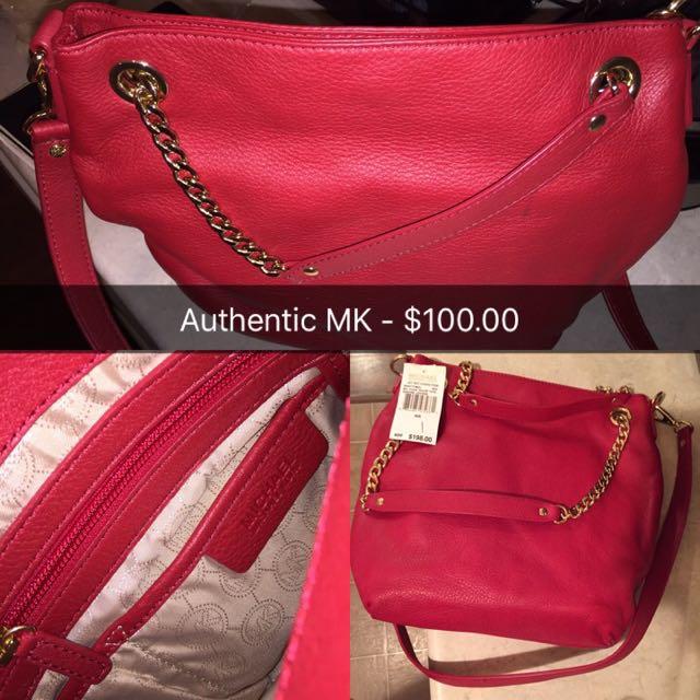 Authentic MK Side Bag/purse