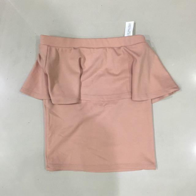 Bershka Peplum Skirt