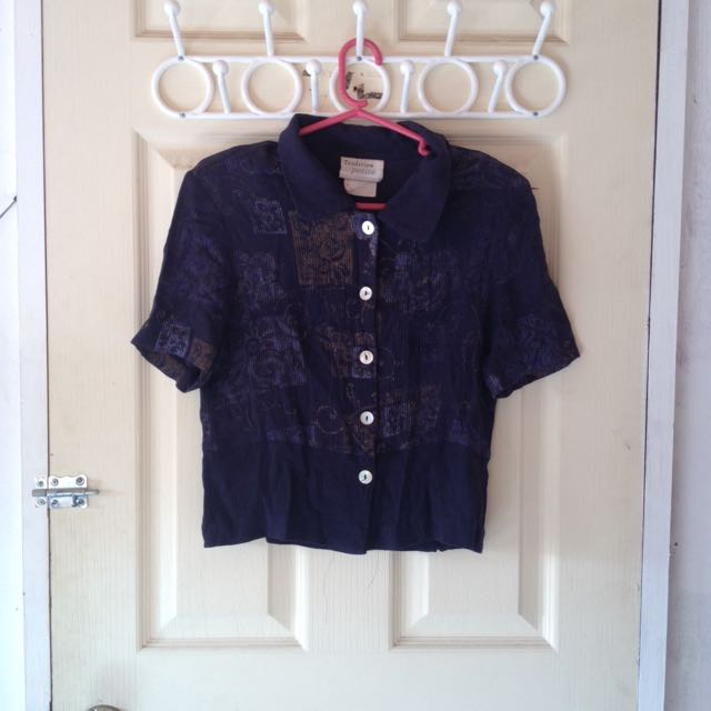 Blue And Classy Hanging Shirt