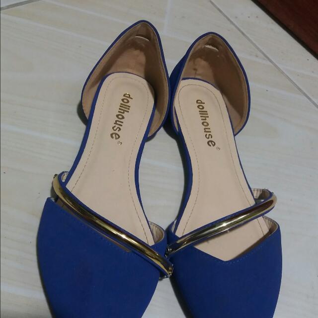 *** SALE*** Blue Suede Shoes
