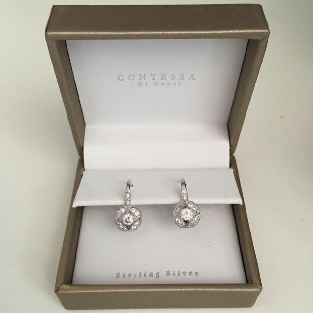 3e7b6bf1c BNIB Drop/Dangle Earrings By CONTESSA Di Capri, Women's Fashion, Jewelry on  Carousell