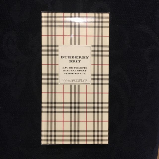 BURBERRY BRIT (Brand New sealed)