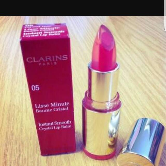 Clarins Instant Smooth Crystal Lip Balm – Crystal Rose 05