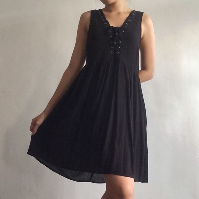 Cotton On Lace-up Dress