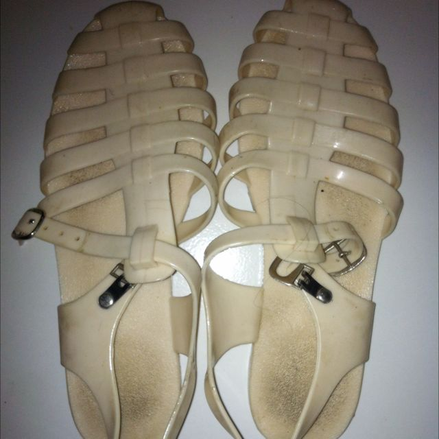 Creamy Jelly Shoes