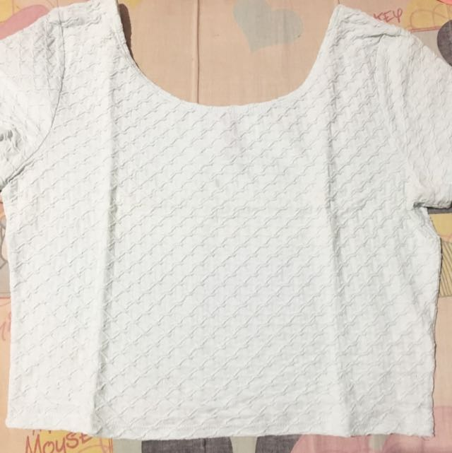 CROPTEE H&M