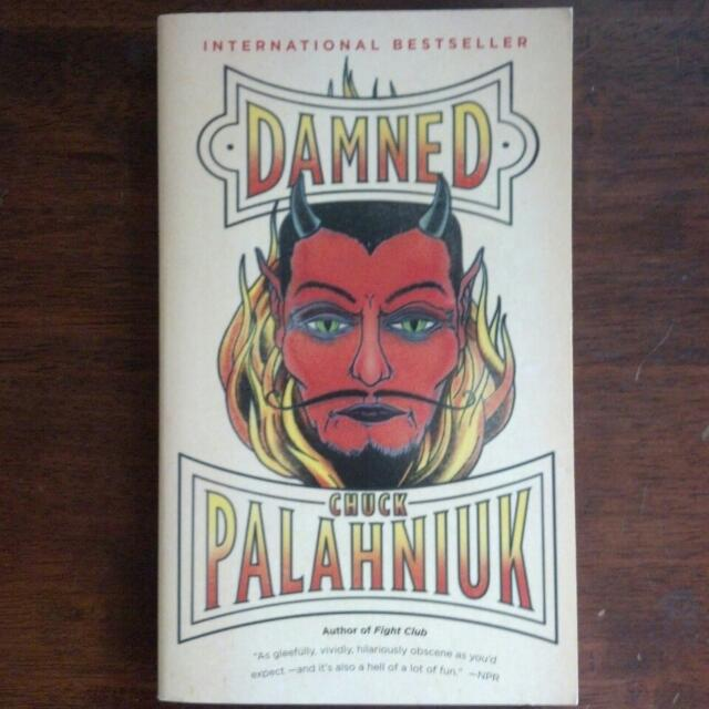 RESERVED Damned by Chuck Palahniuk