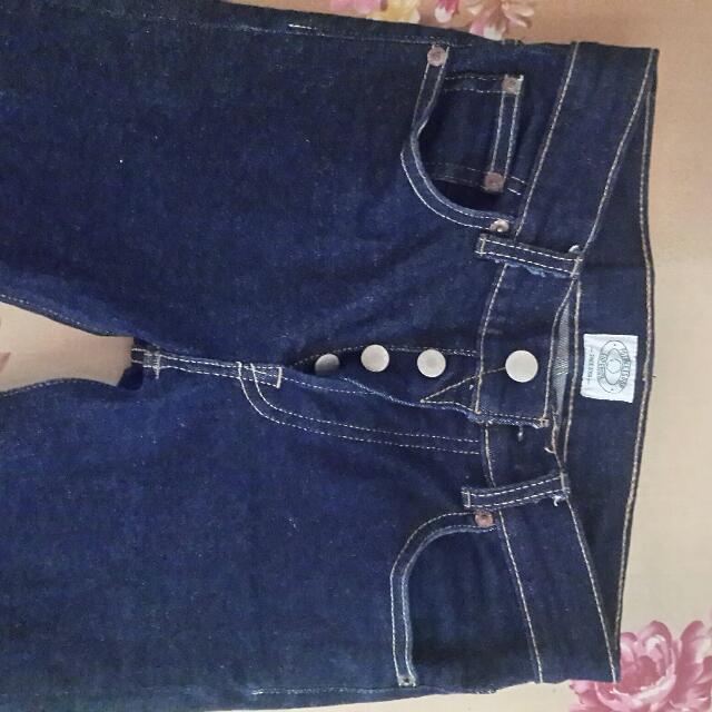 Denim Pot Meets Pop Strech Size 27 Blue Navy Like New Rp 300.000 Nego Gan