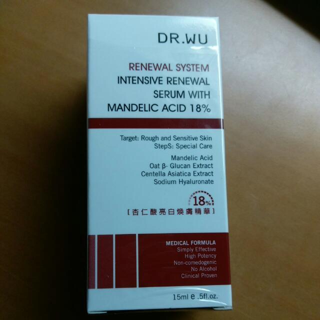 DR.WU 18% 杏仁酸 亮白 煥膚 精華