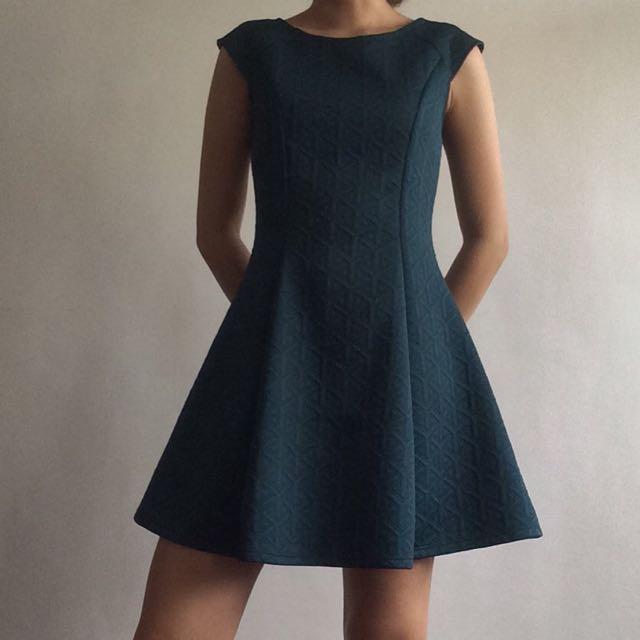 Forever 21 Emerald Dress