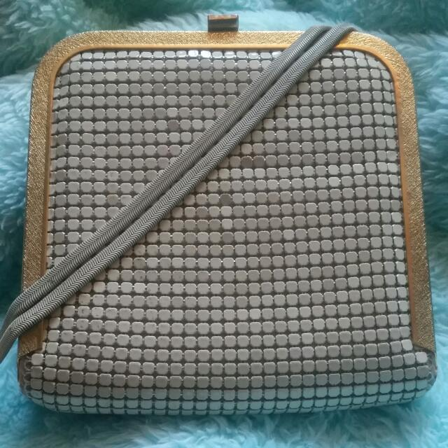 Glomesh Purse With Strap