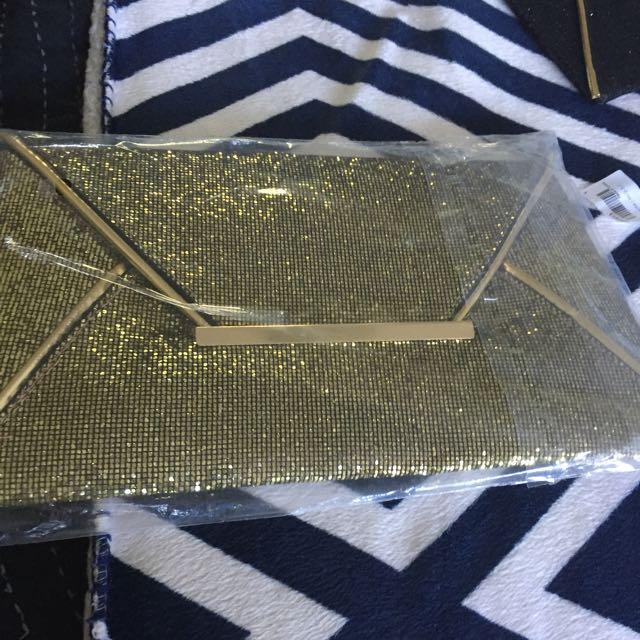 Gold Wallet/purse