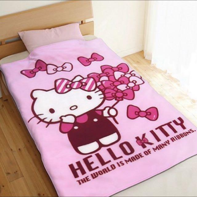 Hello kitty刷毛毯100*150公分·三麗鷗授權