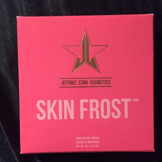 Jeffree Star Skin Frost Peach Goddess New In Box