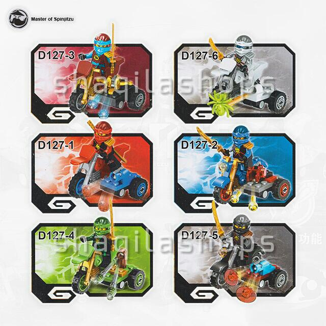 Lego Ninja Go Motor 01