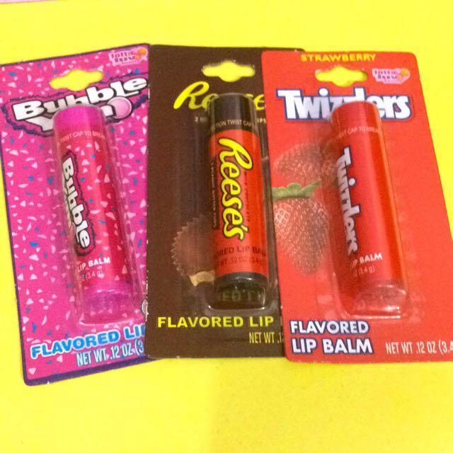 Lip balm (dapat 3)