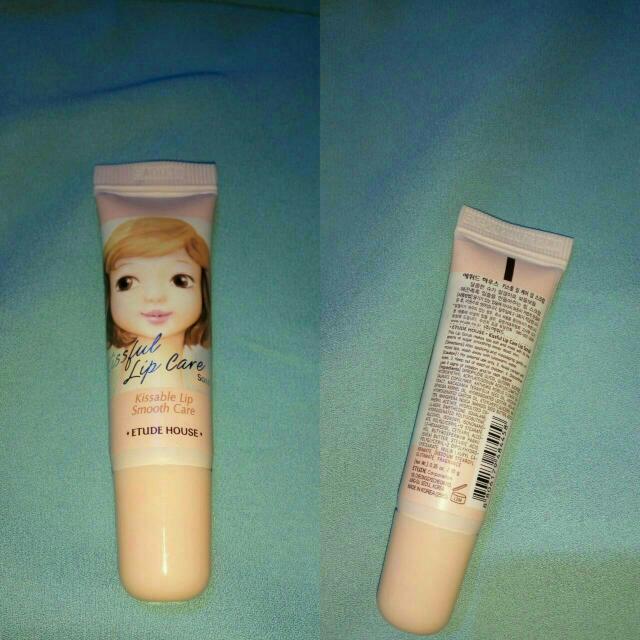 Lips Scrub ORI ETUDE  *pernah Di Pakai 2 Kali , Isi Masih Banyak Dijual Karena Alergi Gak Bisa Pakai Lips Scrub