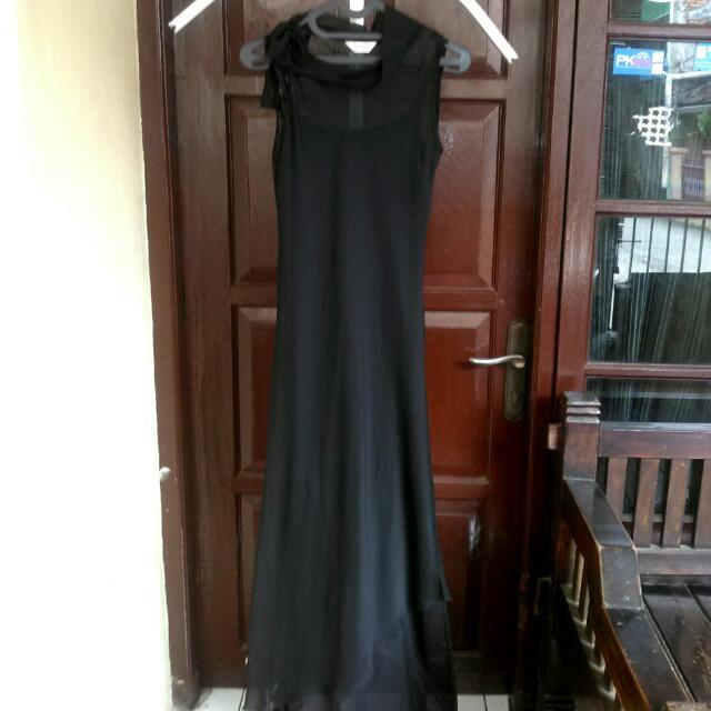 Long Dress Black Brilliant