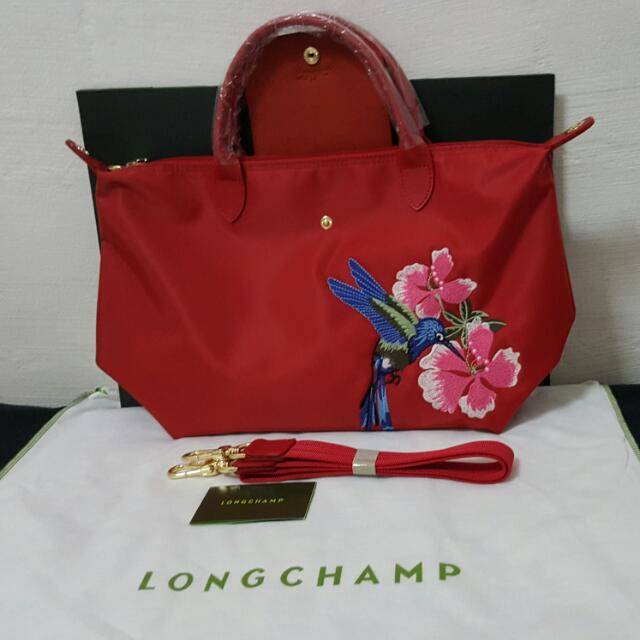ea6b1e4f4f62 longchamp bag with embroidery design