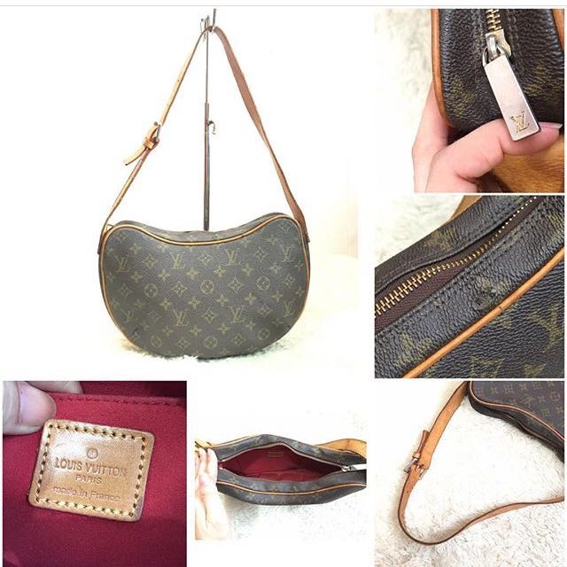 7b040a353d1d Louis Vuitton Monogram Canvas Croissant MM